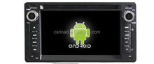 Android 5.1.1 car dvd player head Unit 2 din car muleimedia player system with