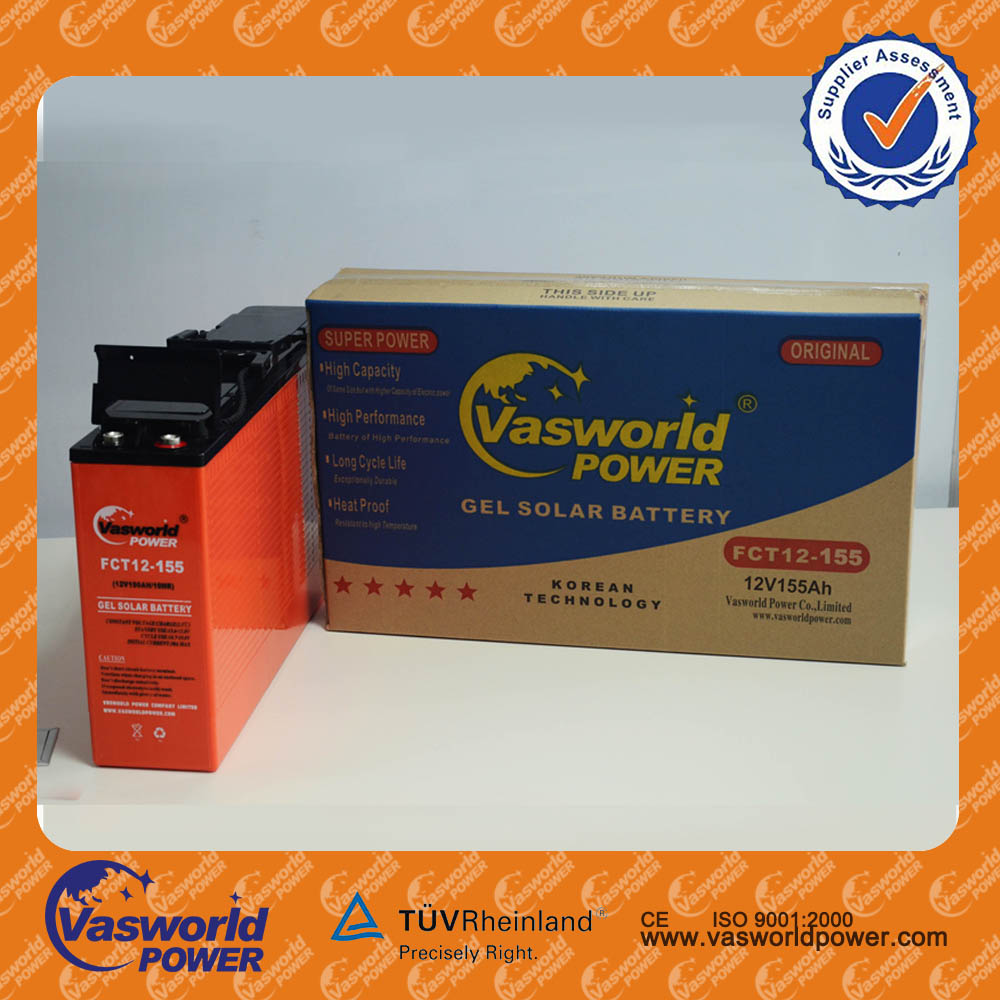gel lead acid Battery Front Terminal Battery Front Access Battery 12V 155AH for telecommunications