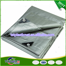 Tarp Cover 10X12 Silver/Black Heavy Duty 8 Mil Thick Material, Waterproof, Great for Tarpaulin Canopy Tent, Boat, Pool Cover
