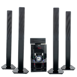 JERRY hot selling stereo sound bar surround 5.1 tower home theater speaker