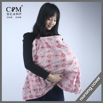 ce80442d0aad8 Stylish and High Quality AZO Free Breathable 100% Cotton Nursing Cover for  Breastfeeding