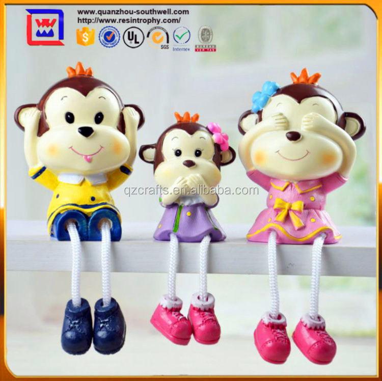 monkey Outseam doll souvenir for home decoration