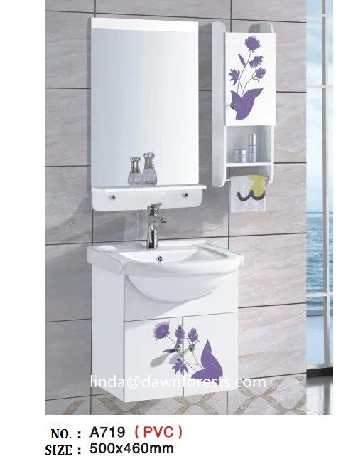 Painting Plastic Bathroom Cabinets semi-circle painting pvc bathroom vanity with cruved side cabinet