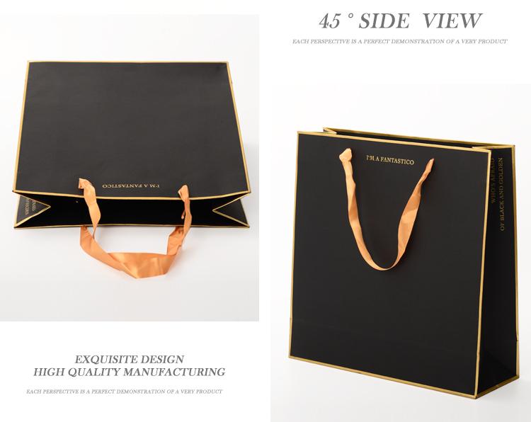 Luxury Custom Brand Name Logo Gold Foil Stamping Gift