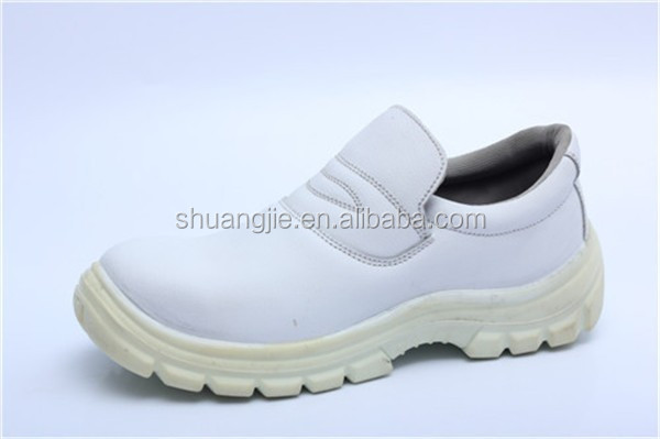 white steel toe anti static safety shoes and food industry safety boots and catering safety shoes SC-8814,No.8019