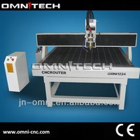 chinese jinan 3 axis wood cnc router 1224