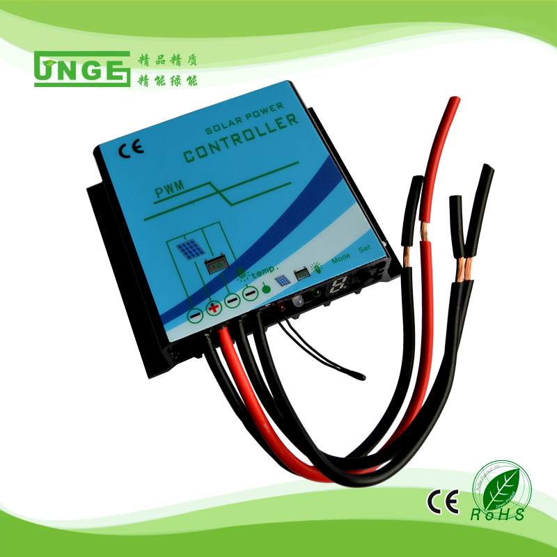 20A street solar led light charge controller 12v 24v auto time and light control
