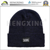 High quality wholesale factory fashion top blue tall beanie hat