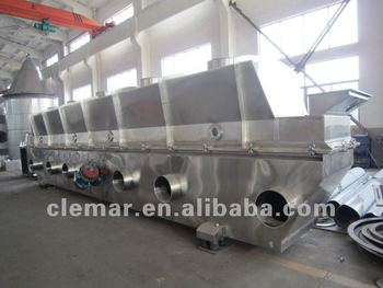 Granules Vibrating Fluid Bed Dryer / Fluidized bed dryer