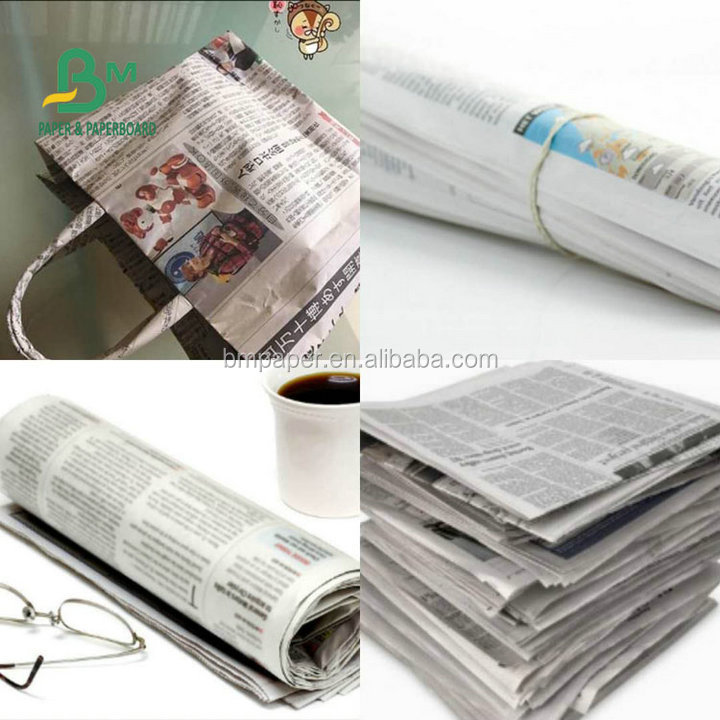 48.8GSM Good Quality Newsprint Paper Roll For Wrapping Tortillas