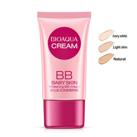 OEM/ODM BIOAQUA Baby muscle BB Cream for skin care Concealer Smooth Moisturizing Compact Foundation makeup with BB cream