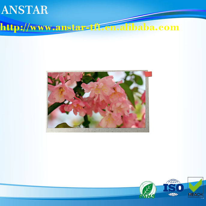 900 nits ,1024*600 ,IPS 7 inch industrial tft screen panels
