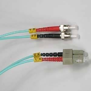 Arrowmounts AM-FOJ2633 Fiber Optic Jumper 15M LC-St 10GB 50/125 Lommf M/Duplex Fiber Cable