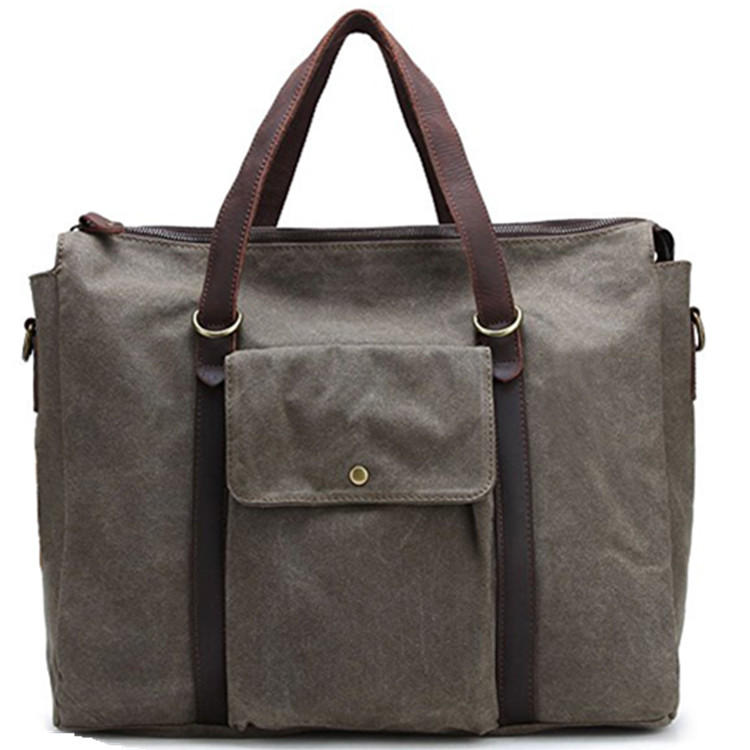 Oversized Large Capacity Canvas Handbag Weekday Travel Luggage Tote Bag