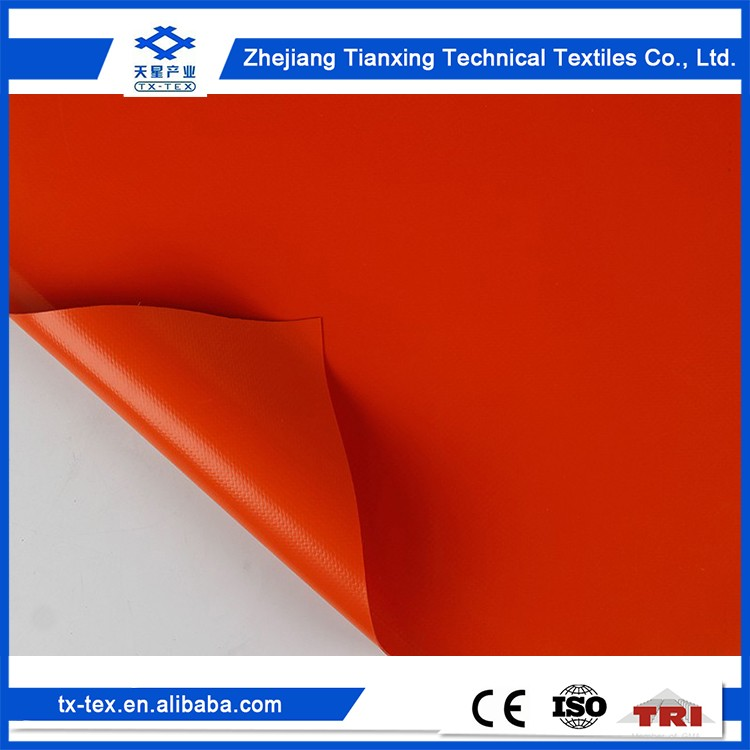 China factory supplier 100% PVC tarpaulin material