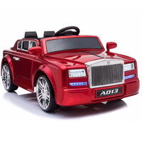 Factory sale children electric car ride on toy 12V luxury baby charging car