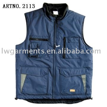 POLYESTER PADDED OUTDOOR JACKET FOR WINTER