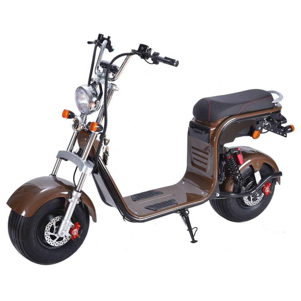Europe warehouse newest citycoco 2 wheel 1500w anti theft self balancing electric scooter Electric+Scooters, Red;black;yellow;white;britan;green