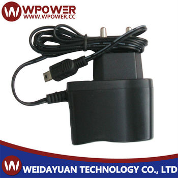 120 Vac To 12v Dc 0.5a 6w Power Adapter Input 100~240v Ac 50/60hz ...