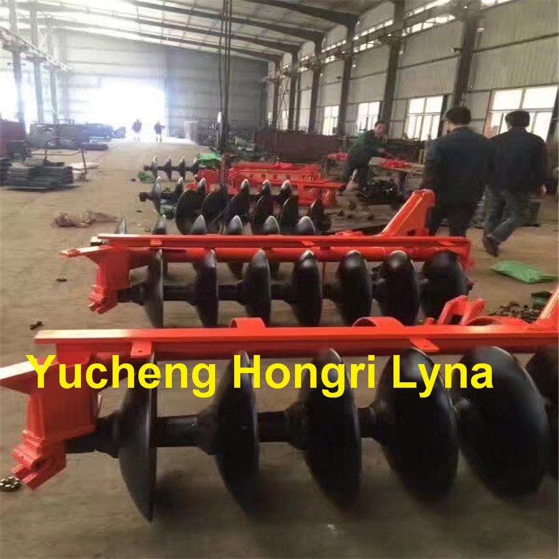 Agricultural machine 3 disc one way plough with high efficiency