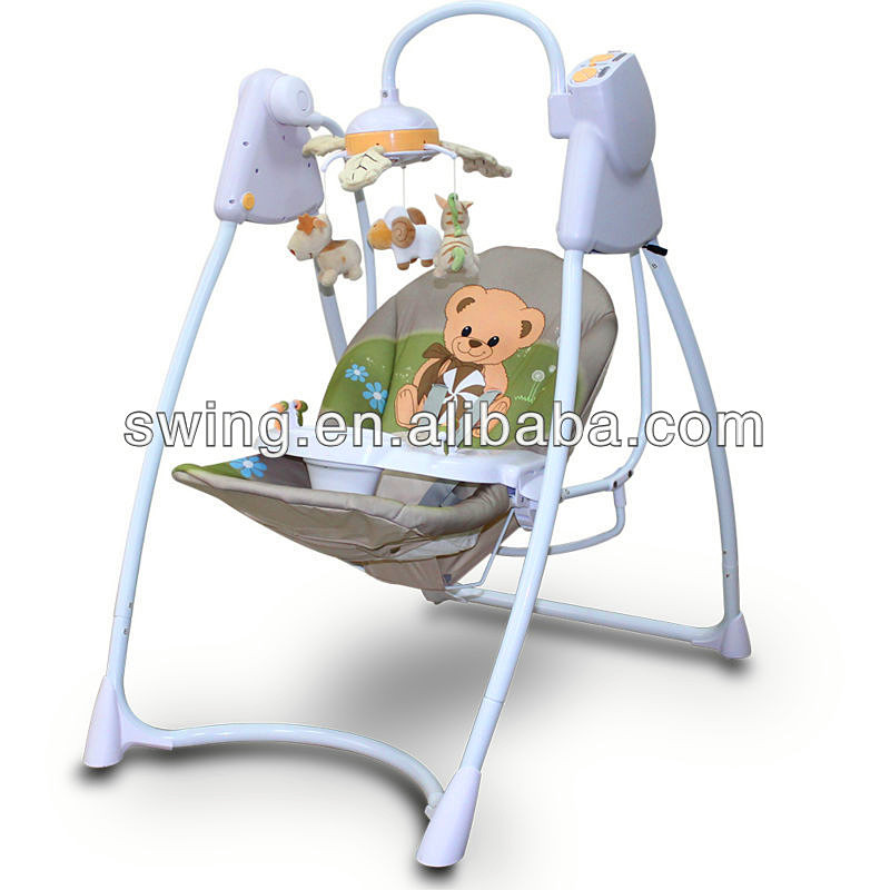 electrical chair baby photo stock automatic swing newborn image