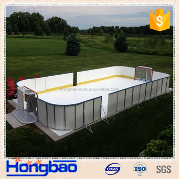 Synthetic Ice Rink Hockey Shooting Padbackyard Rinkhockey Boards - Backyard roller hockey rink