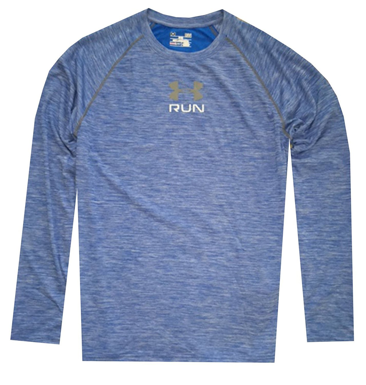 504102398 Get Quotations · Under Armour Men's Heat Gear Compression Shirt Grey