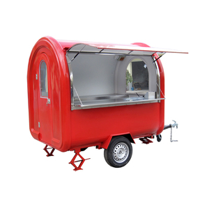 Cool summer food cart/mobile food cart trailer with wholesale price
