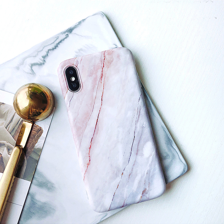 Best Selling Products Customized Modern OEM IMD Marble Phone Cover Case for iPhone X