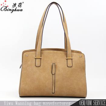 A-192 China Alibaba 2018 New Collection BINGHUA Jing Pin PU Leather Women  Bags Lady 7b169a46102a1
