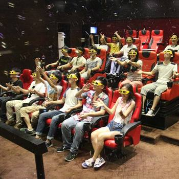 Movie Power New Technology Thrilling 5D Motion Movie Cinema Theater 20 Seats 7D Cinema Equipment Price