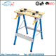 Blue Color Woodworking table Folding Portable Workbench