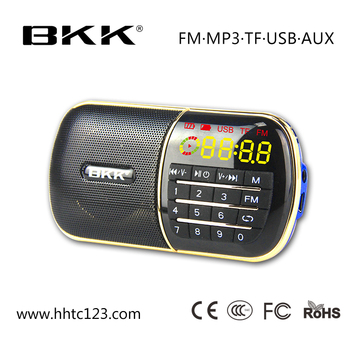 2016 hindi mp3 song download fm radio mini digital speaker (Q30)