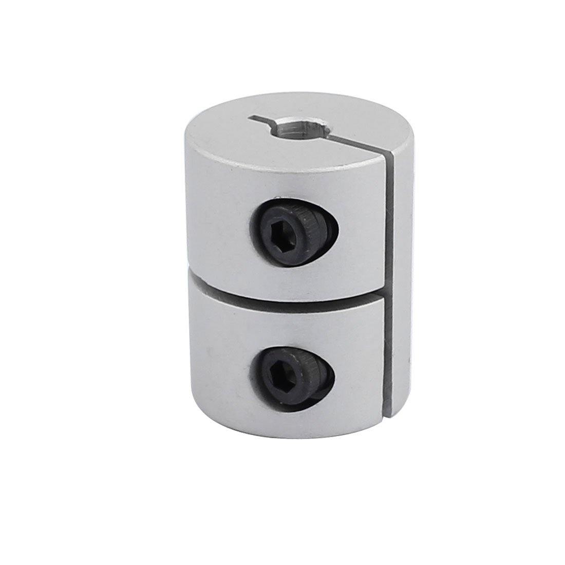 uxcell 8mm to 10mm Stainless Steel Shaft Coupling Flexible Coupler Motor Connector Joint L25xD18 Silver