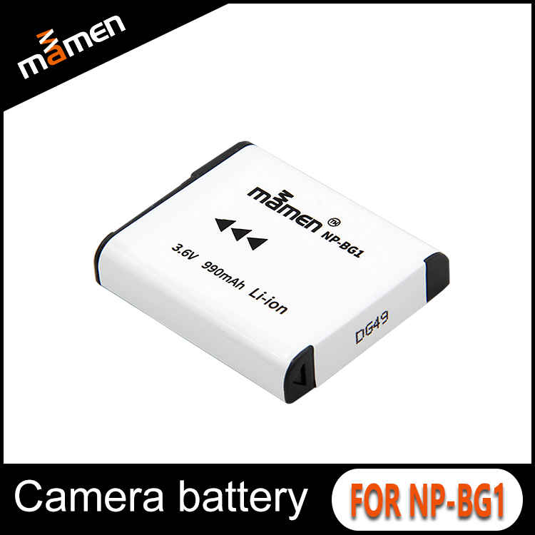 Manufacture OEM lithium ion battery rechargeable NP-BG1 battery for Sony camera