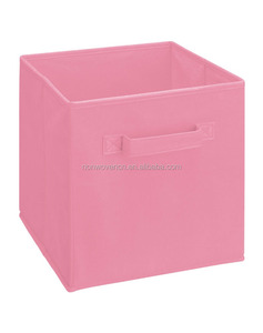 New style nonwoven fabric folded camera storage boxes for doll