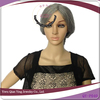 Hot Sale grey synthetic old women carnival party wigs