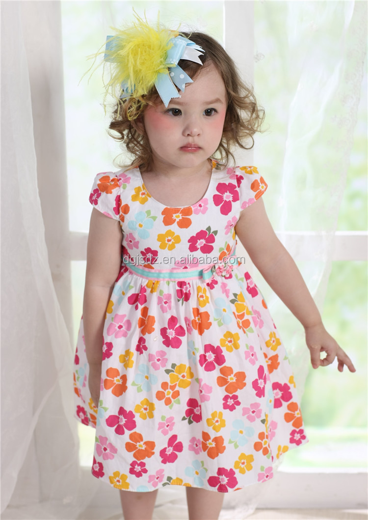 Smocked Children Clothing Wholesale Birthday Dress 2 Year Old Baby ...