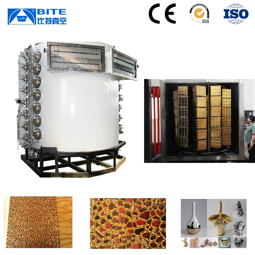 ceramic vacuum coated decorative tile /color painting manufacture equipment for porcelain