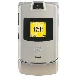 Motorola RAZR V3m Stone No Contract Sprint Cell Phone