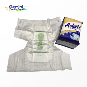 Gemini Brand adult pull up diapers adult plastic pants adult plastic nappies CL7A