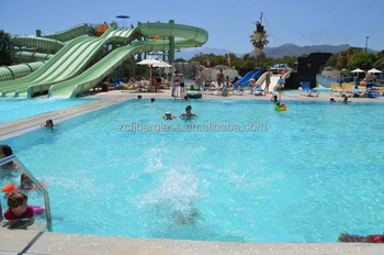 Used fiberglass water slides commercial inground pool for - Used swimming pool slides for inground pools ...