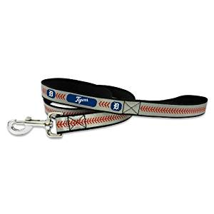 MLB Detroit Tigers Baseball Pet Leash, Reflective
