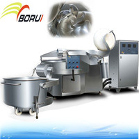 ZB-200 Meat Chopper And Mixer / Meat Bowl Cutter Machine Price