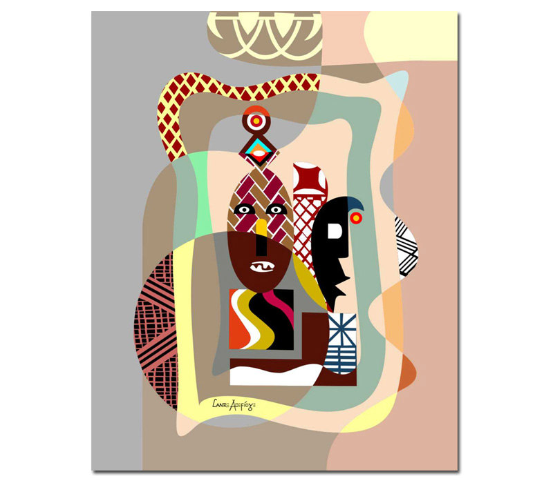 Frameless painting by numbers paint by numbers for <font><b>home</b></font> <font><b>decor</b></font> picture oil painting for living room 4050 west <font><b>african</b></font>