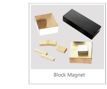 Golden Coating Rare Earth Sintered Permanent NdFeB Magnet