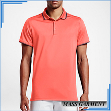 Cheap Quick Dry Fit Polyester Slim Fit Golf Men's Polo T Shirt