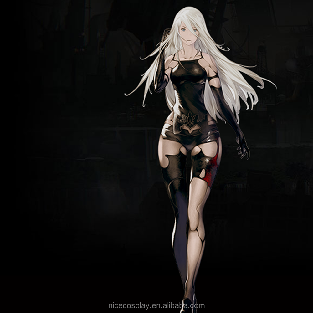 Japan Game NieR:Automata Cosplay A2 Costumes Full Sets Custom Made Wholesale