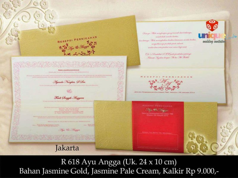 Jakarta Wedding Invitation guitarreviewsco