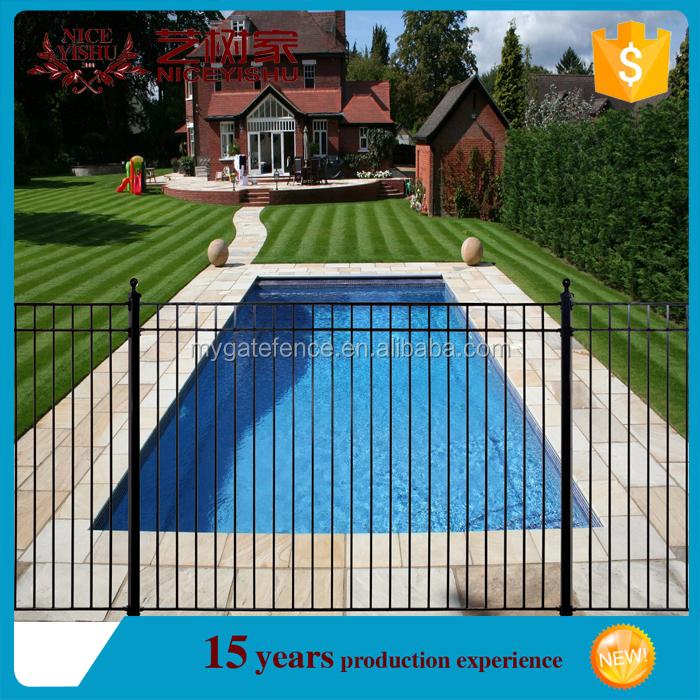 Yishujia f brica piscina cerca limpar ferro forjado for Fabricar piscina